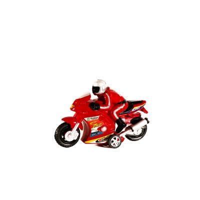 Мотоцикл инер-й, 16см, с фигуркой человека, 2 цве, 2031A