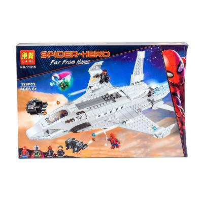 Конструктор Bela:Реактивный самолет Старка 528Pcs