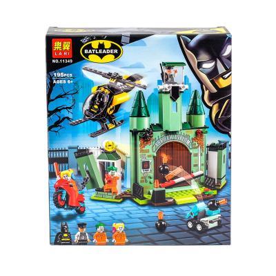 Конструктор Bela: Бетмен и побег Джокера 195Pcs/Se