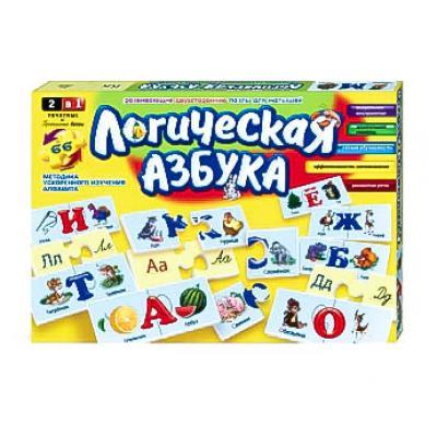 Логична азбука в коробке, рус