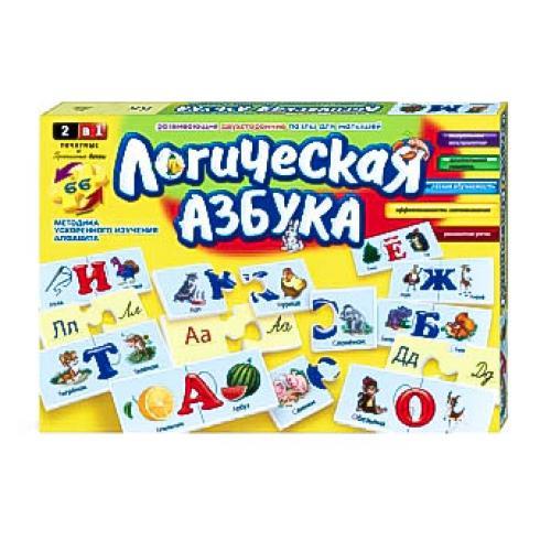 Логична азбука в коробке, рус, ДТ-ЛА-06-06