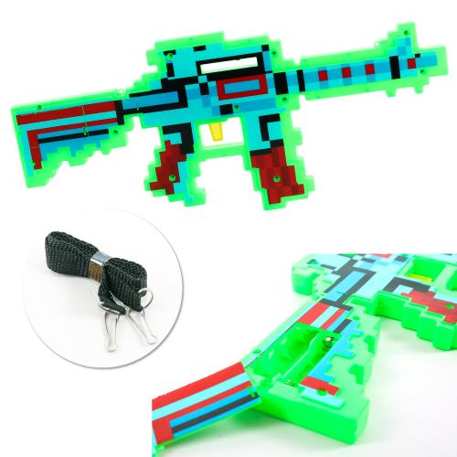 Автомат 0223-2 (72шт) MK, 39см, звук(англ,стрельбы, 0223-2