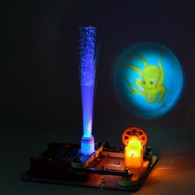 Конструктор 320 (60шт) светильник,проектор, слайды, 320