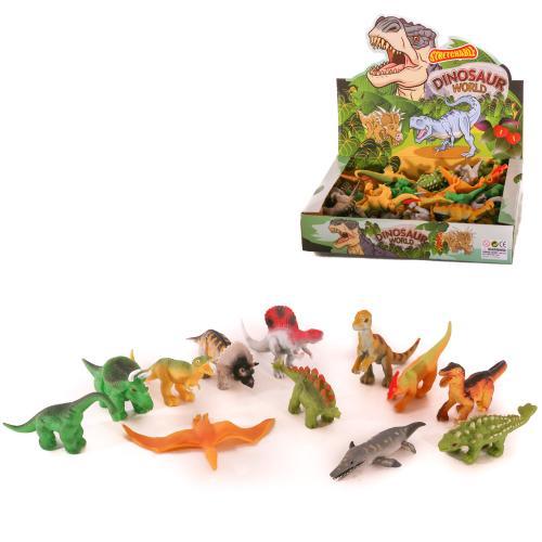 Динозавр A130-DB (192шт) от 10см, 48шт(12видов)в д, A130-DB