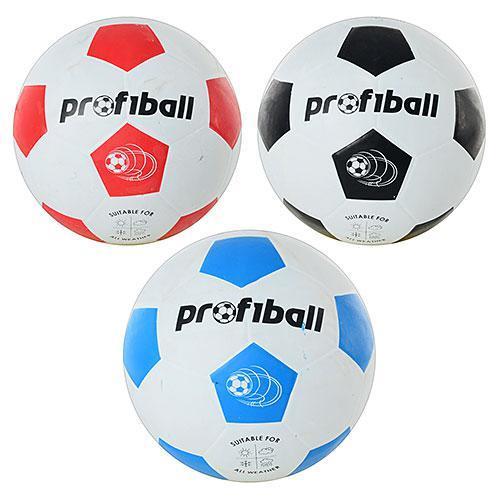 Мяч футбольный резина, размер 5, VA 0014