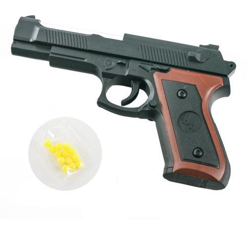 Пистолет 328S-1 (240шт) 17см, на пульках, в кульке, 328S-1