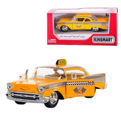 Машинка KT 5360 W (24шт) металл,инер-я, такси,12,5с
