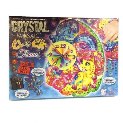 "Набор для творч""Crystal Mosaic Clock"""