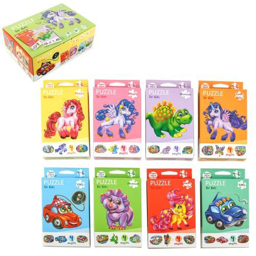 Пазлы для дитей Puzzle For Kids в кор 32 (ДТ), ДТ-ПЗ-05-48
