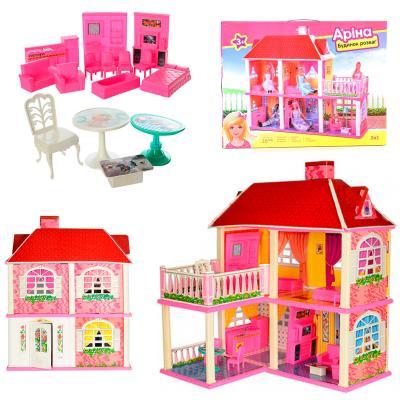 Домик 83,5-70-25, 5см,2в1,2этажа, 5комнат,мебель,для
