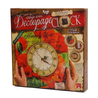 """Комплект креативної творчості """"Decoupage Clock"""""""