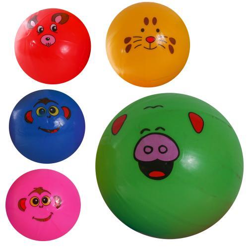 Мяч резиновый C12764 (300шт) ассорти, 15см 40г, C12764