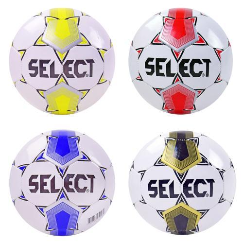 Мяч футбол B23832 (30шт) PVC 330 грамм 4 цвета, B23832