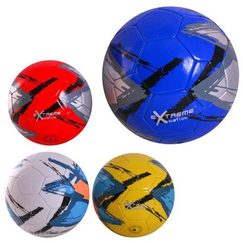 Мяч футбол C24466 (60шт) PU, 4 цвета, 320 грамм, C24466