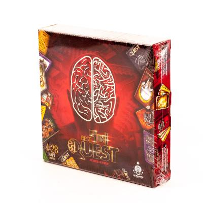 "Карточная игра ""Best Quest 4в1"""