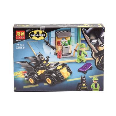 """Конструктор Bela (Lari) """"Batman""""Ограбление Загадоч, BELA 11348"""
