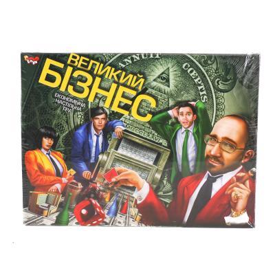 """Игра наст. большая """"Большой бизнес"""" укр"""