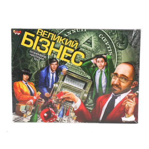 """Игра наст. большая """"Большой бизнес"""" укр, Д БИ-07-27"""