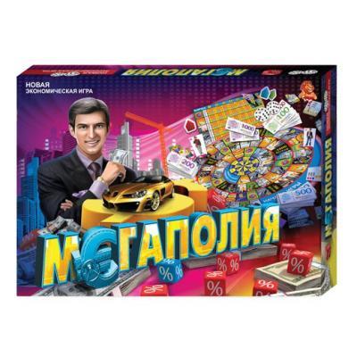 """Игра настольная большая """"Мегаполия"""""""
