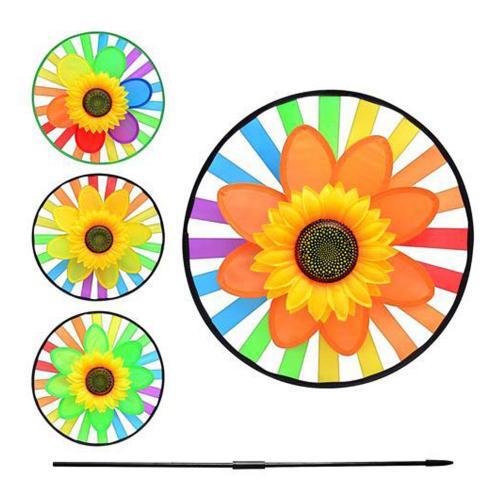 Ветрячок подсолнух, 4 цвета, в кульке., M 0776