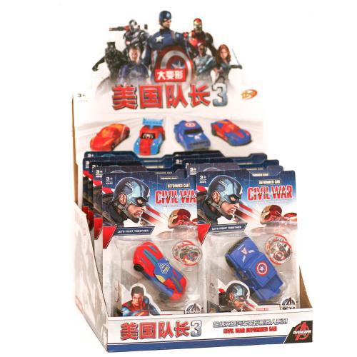 Робот - трансформер (коробка 12 шт.) 69613 р.30*30, 69613-1