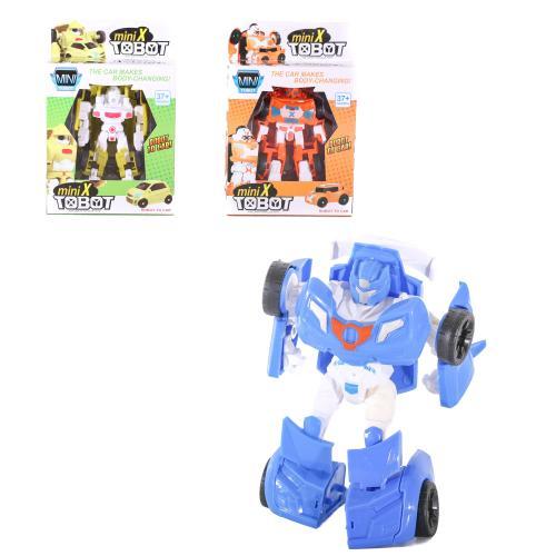 Трансформер 1860-123 (72шт) TBT, 13см, робот+машин, 1860-123