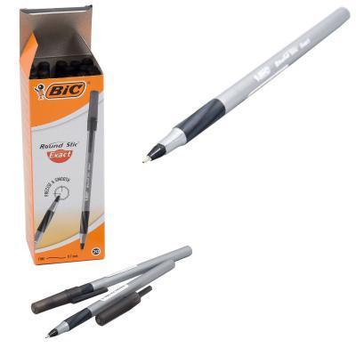 Ручка BIC, чёрная, 20 шт. (цена за штуку)