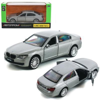 Машина металл BMW 760LI.откр.двери,в кор