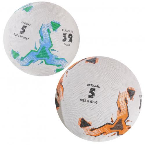 Мяч футбольный VA 0038 (30шт) размер 5, резина Gra, VA-0038