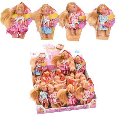 Кукла 11см, на листе, 24шт(4вида)в дисп, 29-14-22с