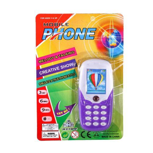 Телефон 88056-66 (240шт) 11см, муз, звук, свет, 2, 88056-66