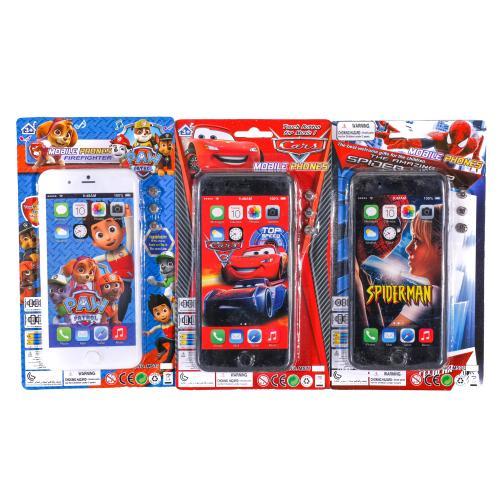 Телефон MS772P-A6-8-9-22 (288шт) 16см,муз-зв(англ), MS772P-A6-8-9-22