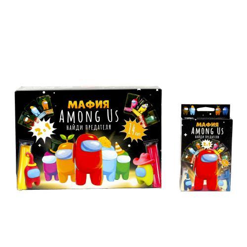 "Карточная игра ""Мафия AMONG US"", РУС, ФР-00015341"