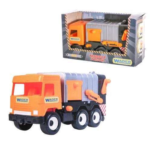 "Мусоровоз City ""Middle truck"", 39312"
