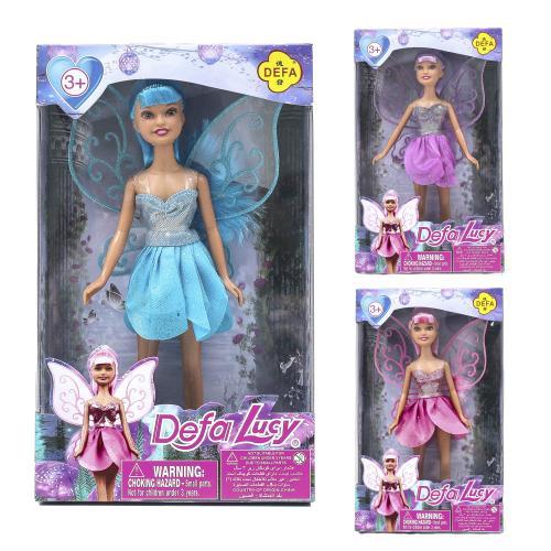 Кукла фея, с крыльями, DEFA 8317