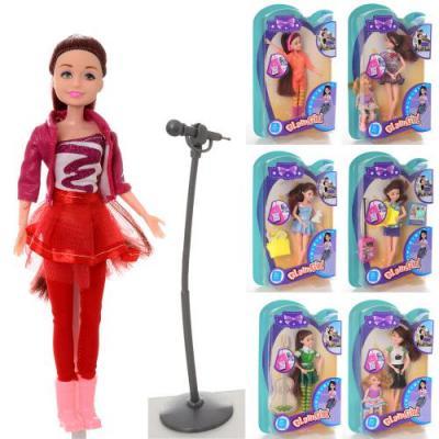 Кукла шарнирная , 7 видов, QX013-1-2-3-4-5-6