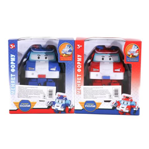 Трансформер DT-558 (60шт) RP, робот+машинка, 11см, DT-558