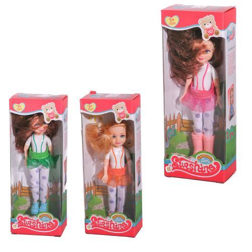 Кукла KQ069A (210шт) 14см, шарнирная, 4 вида, в ко, KQ069A