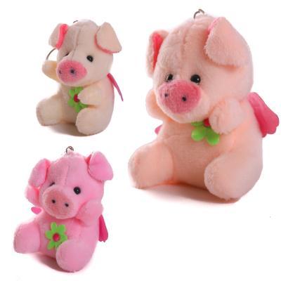 Аксессуар для сумки X14197-98 (250шт) свинка, брел