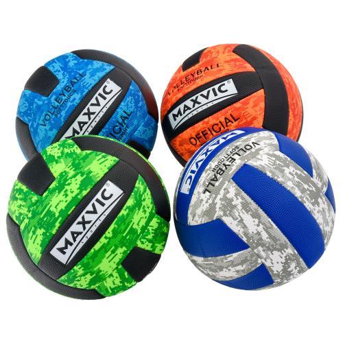 Мяч волейбольный, ПУ два слоя, 240-260г,четыре цве, SL-5-5