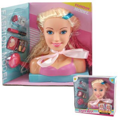 Кукла DEFA 8401 (24шт) голова для причесок и макия