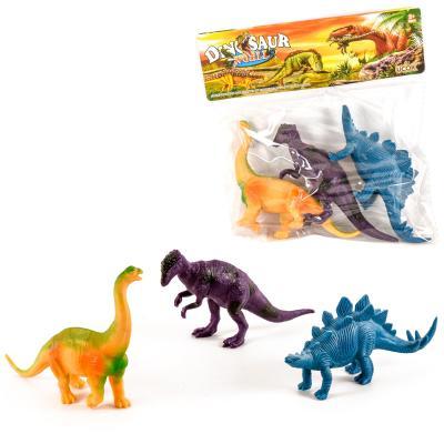 """Набор животных """"Динозавры"""", 3 шт."""