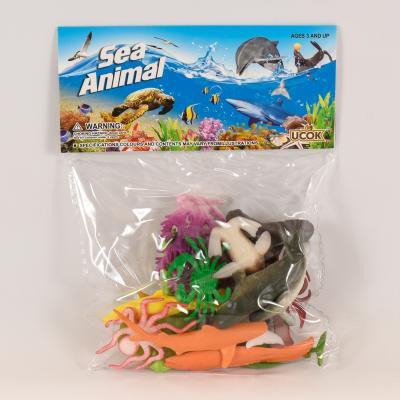 "Набор животных ""Морские обитатели"", 2C261"