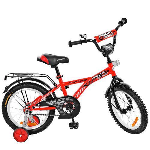 Велосипед детский PROF1 18д. Racer, красный,звонок, T1831
