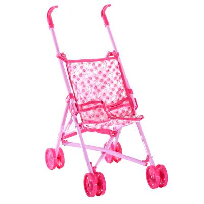 Коляска для куклы, трость,двойные колеса, 51-43-24с