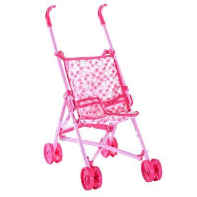 Коляска для куклы,трость,двойные колеса,51-43-24с
