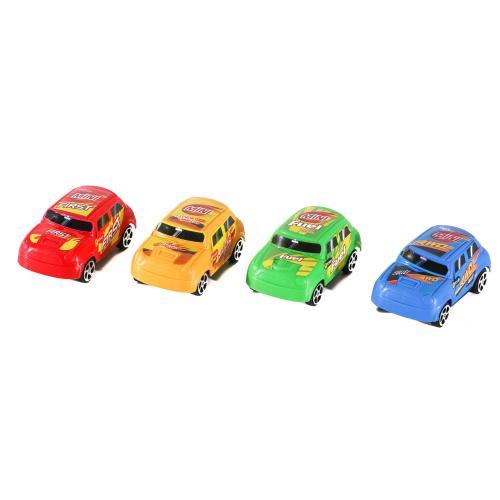 Машинка 360-6C (600шт) инер-я, 7,5см, 4вида, в кул, 360-6C