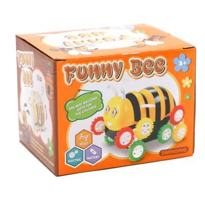 Перевертыш 666-2 (96шт) в виде пчелки, на бат-ке