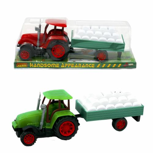 Трактор, инерционный, 0488-5
