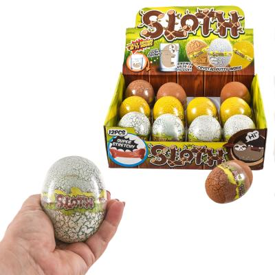 Слайм 2 в 1, в яйце